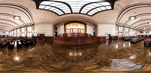 市ヶ谷記念館 大講堂