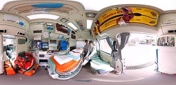 稲城市消防本部 救急車