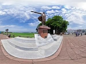 クラーク博士の銅像